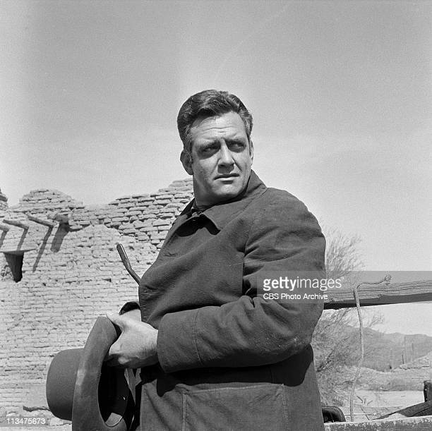Raymond Burr in 'The Lone Woman' on PLAYHOUSE 90 Image dated February 14 1957