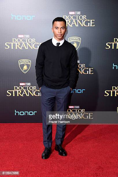 Raymond Cham attends the premiere of Disney and Marvel Studios' Doctor Strange at the El Capitan Theatre on October 20 2016 in Hollywood California