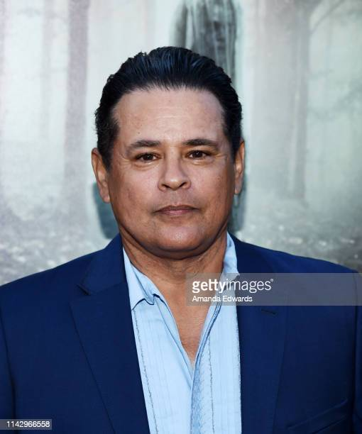 Raymond Cruz arrives at the premiere of Warner Bros' The Curse Of La Llorona at the Egyptian Theatre on April 15 2019 in Hollywood California