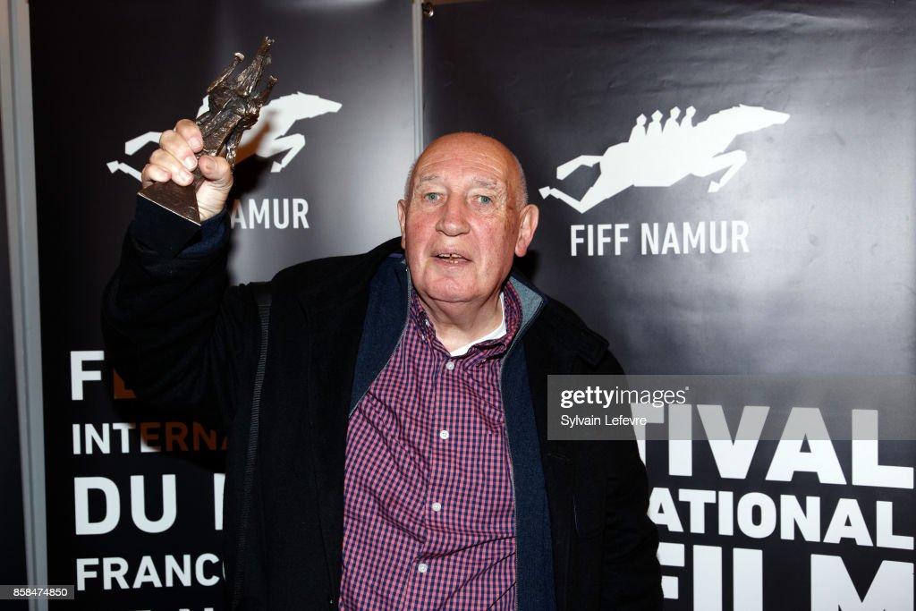 Raymond Depardon attends the Award Ceremony of 32nd Namur International French-Language Film Festival (FIFF) on October 6, 2017 in Namur, Belgium.