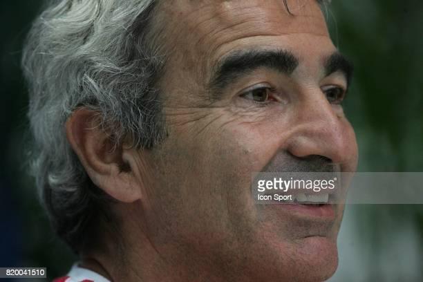 Raymond DOMENECH Conference de presse Coupe du Monde 2006 Hameln Allemagne