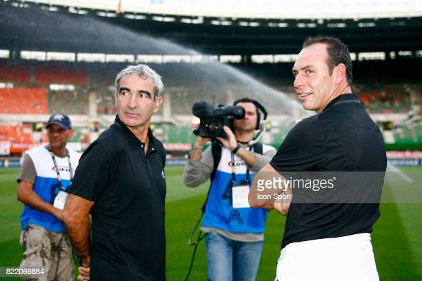 Raymond DOMENECH / Alain BOGHOSSIAN Autriche / France Qualifications Coupe du Monde 2010 Vienne