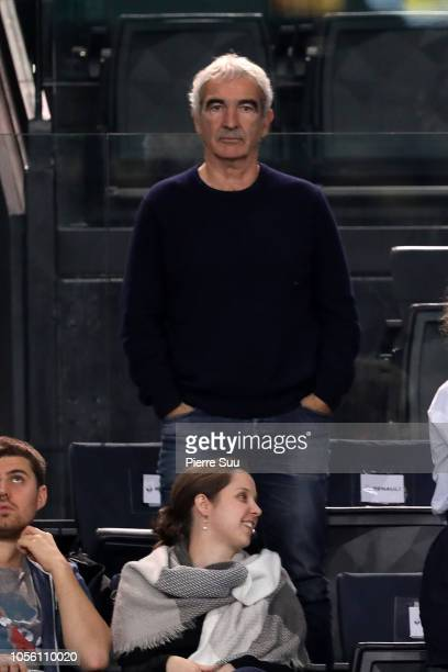 Raymond Domenech during day four of the Rolex Paris Masters on November 1 2018 in Paris France