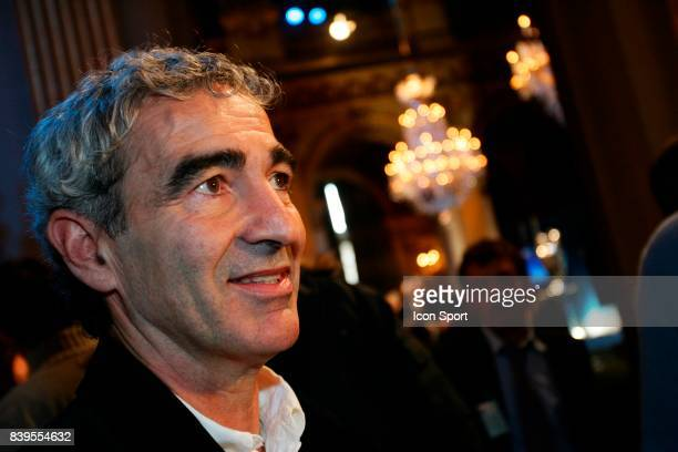 Raymond DOMENECH Tirage au sort de la Champions League Mairie de Paris