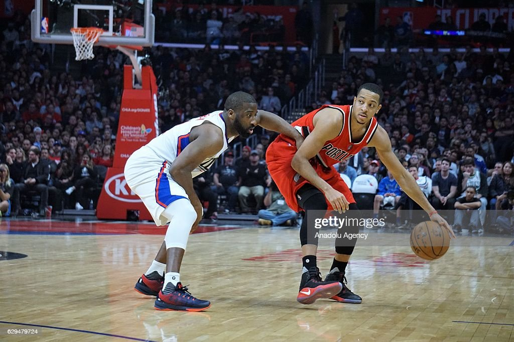Los Angeles Clippers vs Portland Trail Blazers : News Photo