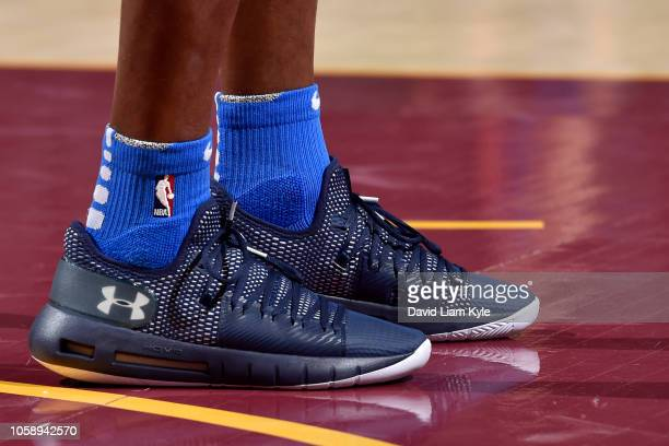 Raymond Felton of the Oklahoma City Thunder on November 7 2018 at Quicken Loans Arena in Cleveland Ohio NOTE TO USER User expressly acknowledges and...
