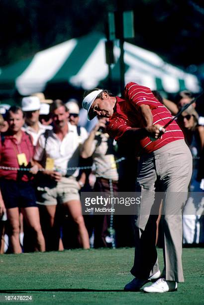 Raymond Floyd during the 67th PGA Championship held at Cherry Hills Country Club in Englewood Colorado August 811 1985