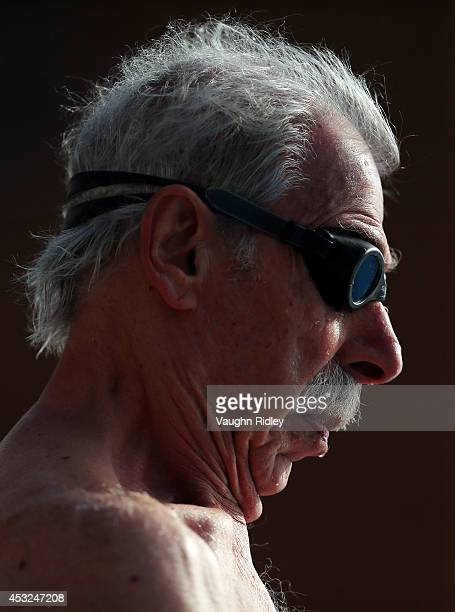 Raymond Groves of the US competes in the Men's 50m Freestyle at Parc JeanDrapeau during the 15th FINA World Masters Championships on August 06 2014...
