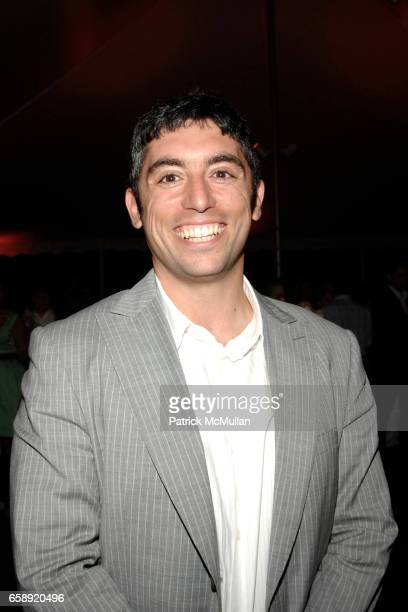 Raymond Hakimi attends the Best Buddies Hamptons Gala at the Home of Anne Hearst McInerney and Jay McInerney on August 21 2009 in Watermill NY