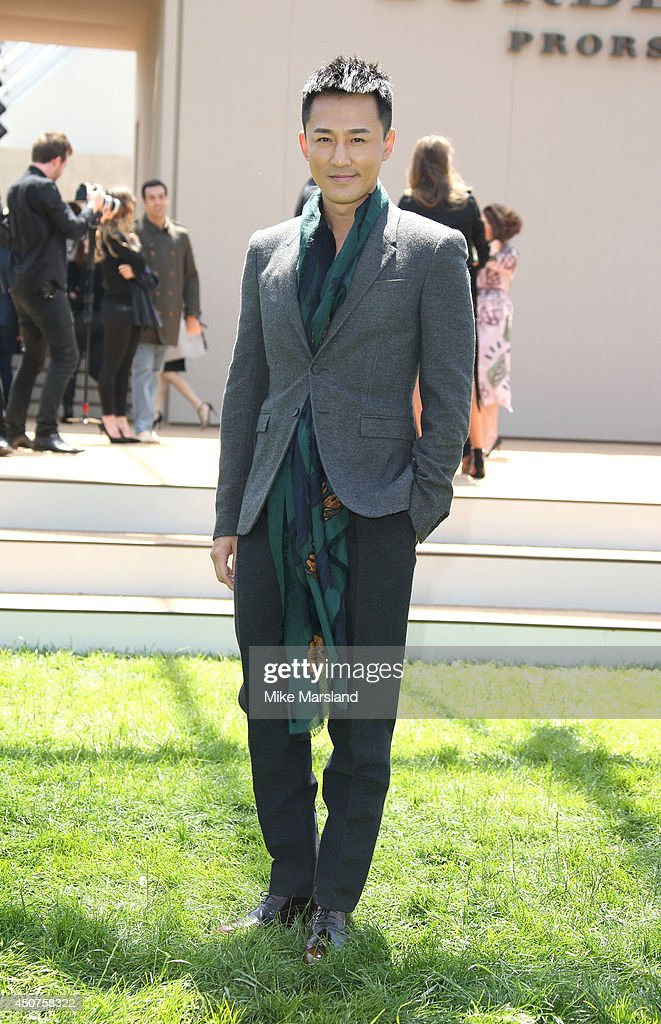 Burberry Prorsum: Arrivals -  London Collections: Men SS15
