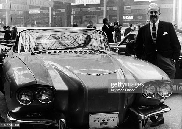 Raymond Loewy At Motor Show On October 1St 1959