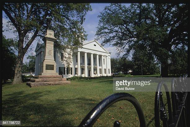 This courthouse was the site of Civil War battle and hospital