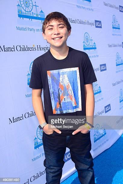 Raymond Ochoa arrives at Mattel Children's Hospital UCLA 16th Annual Party On The Pier Fundraiser at Santa Monica Pier on September 27 2015 in Santa...