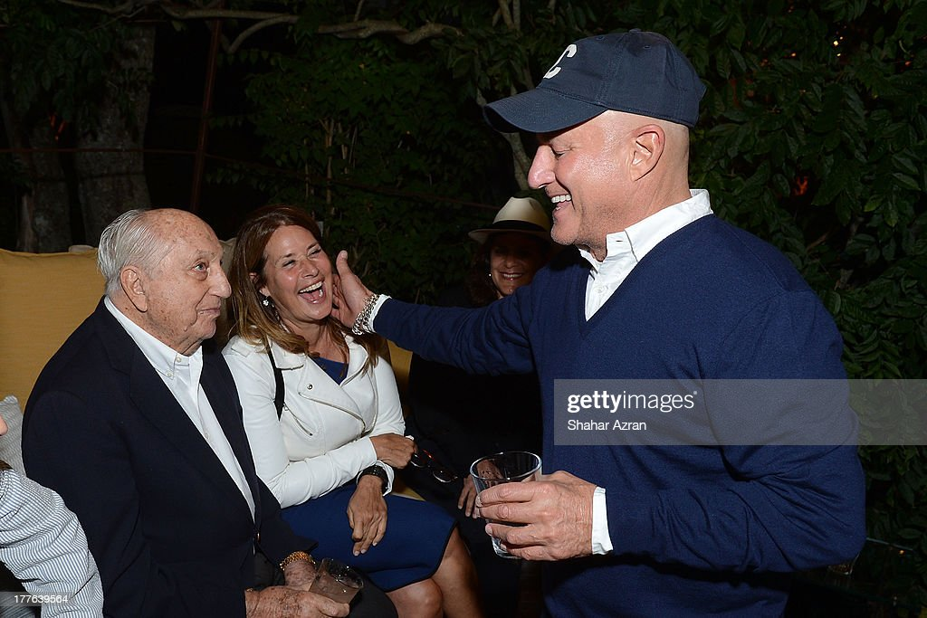 Raymond Perelman, Lorraine Bracco and Ronald Perelman attend 4th Annual Apollo In The Hamptons Benefit on August 24, 2013 in East Hampton, New York.