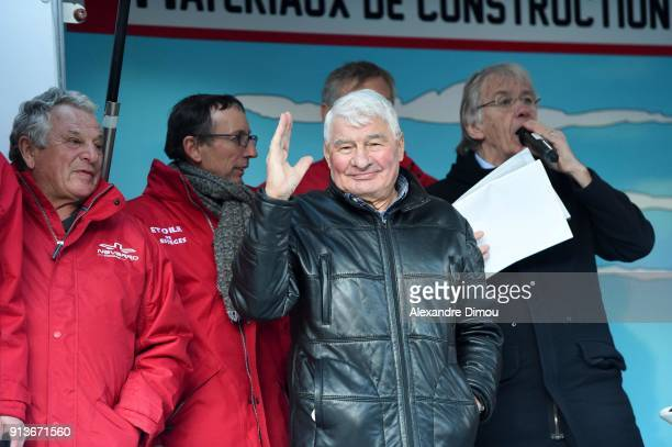 Raymond Poulidor during Stage 3 of Etoile de Besseges from Besseges to Besseges on February 2 2018 in Besseges France