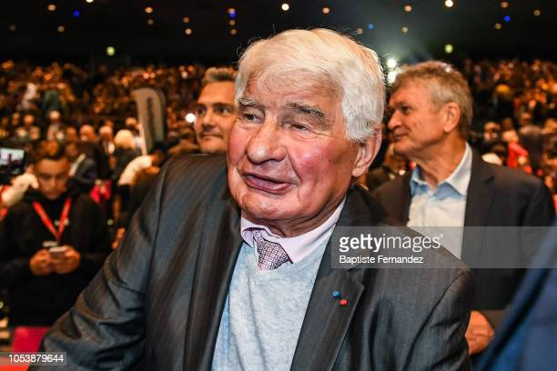 Raymond Poulidor during the presentation of the Tour de France 2019 at Palais des Congres on October 25 2018 in Paris France