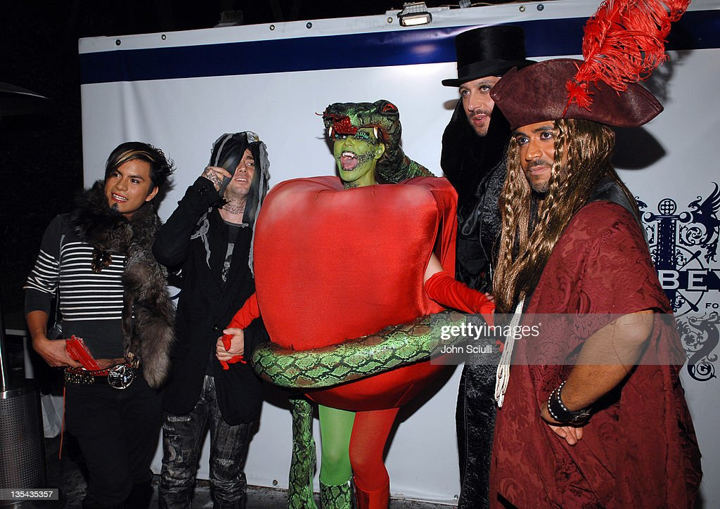 7th Annual Heidi Klum Halloween Party, Sponsored by M&M?s Dark Chocolate - Red