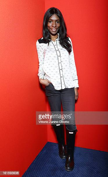 Rayna Campbell attends the 'Leyla Fourie' Portrait Session during the 63rd Berlinale International Film Festival at the Berlinale Palast on February...