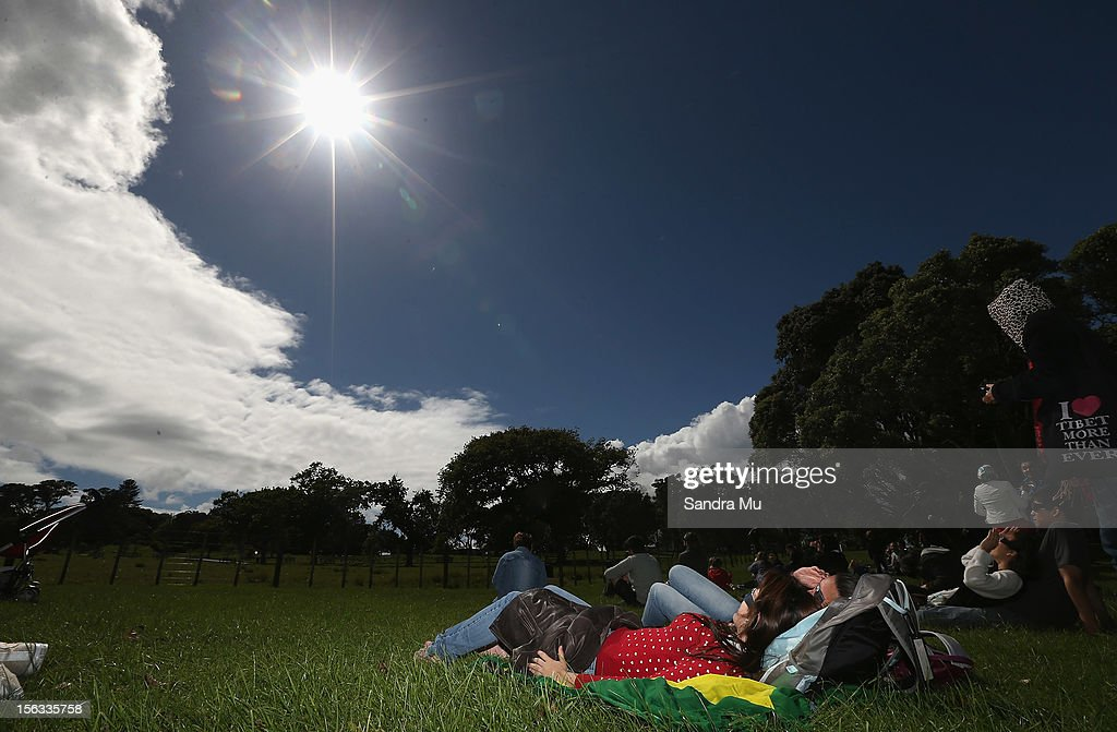 Solar Eclipse Passes Over New Zealand : News Photo