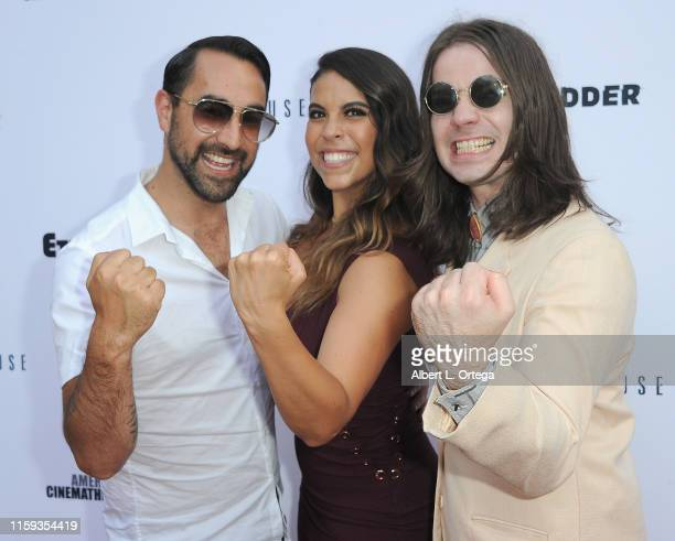 Raynor Shima Gigi Saul Guerrero and Chase Horseman attend the 6th Annual Etheria Film Showcase held at American Cinematheque's Egyptian Theatre on...