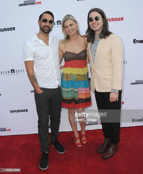 Raynor Shima Kristina Klebe and Chase Horseman attend the 6th Annual Etheria Film Showcase held at American Cinematheque's Egyptian Theatre on June...