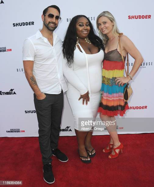 Raynor Shima Unique Chung and Kristina Klebe attend the 6th Annual Etheria Film Showcase held at American Cinematheque's Egyptian Theatre on June 29...