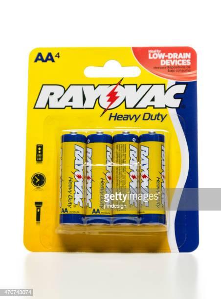 Rayovac heavy duty AA battery pack