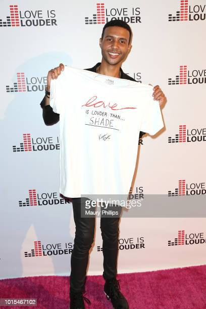 Rayvon Owen attends Chaz Dean Summer Party 2018 Benefiting Love is Louder on August 11 2018 in Los Angeles California