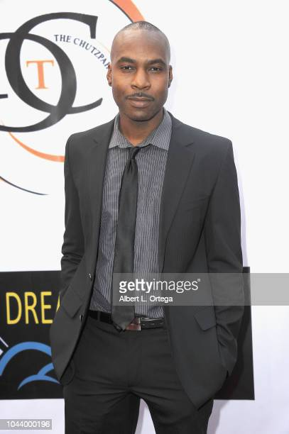 Raz Adoti arrives for 2nd Annual HAPAwards held at Alex Theatre on September 30 2018 in Glendale California