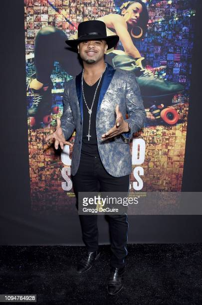 Raz B attends the Los Angeles Premiere Of HBO's Documentary Film United Skates at Avalon Hollywood on February 6 2019 in Los Angeles California