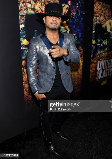 Raz B attends the Los Angeles Premiere Of HBO's Documentary Film United Skates at Avalon Hollywood on February 06 2019 in Los Angeles California
