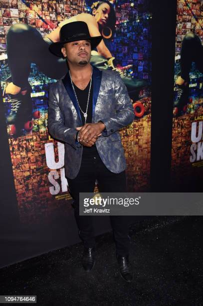 Raz B attends the Los Angeles Premiere of United Skates from HBO on February 6 2019 in Los Angeles California