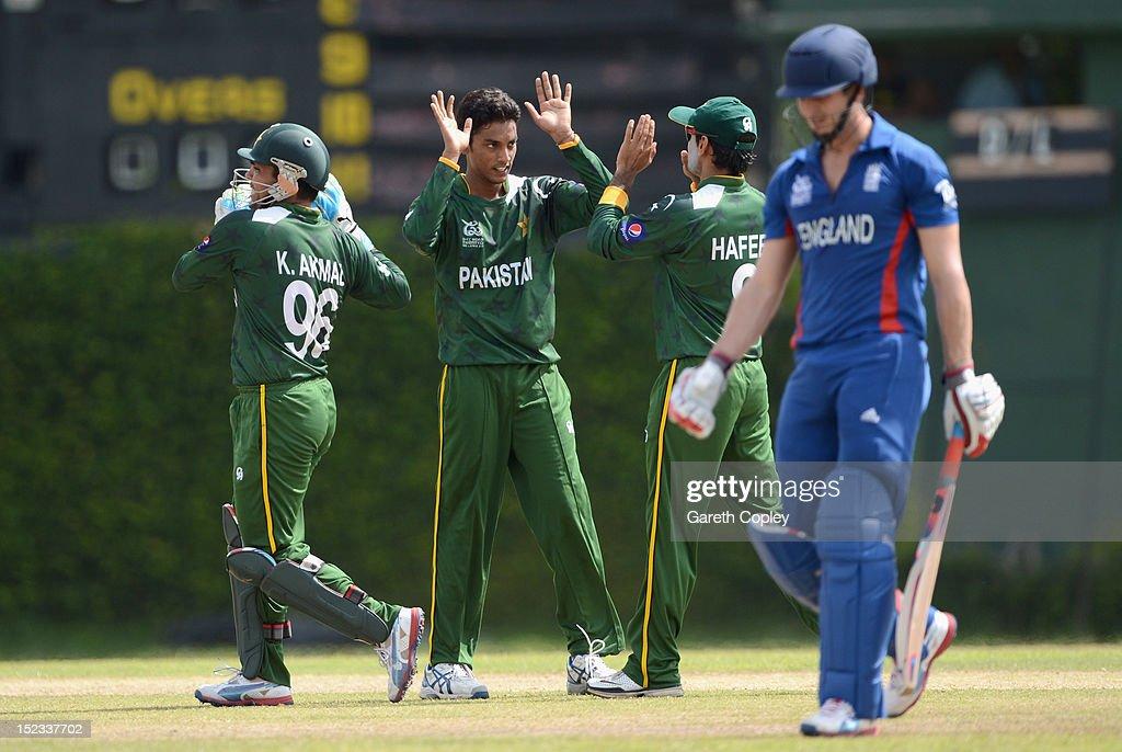 England v Pakistan - ICC World Twenty20 2012 Warm Up Match