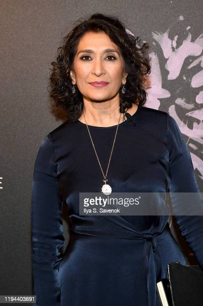 Razia Iqbal attends the Fourth Annual Berggruen Prize Gala celebrating 2019 Laureate Supreme Court Justice Ruth Bader Ginsburg in New York City on...