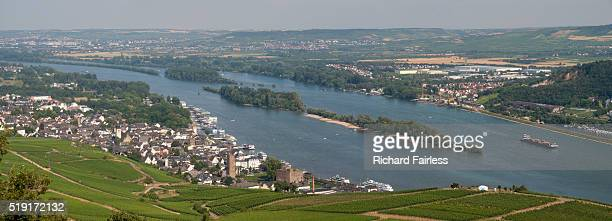 Rüdesheim on the River Rhine