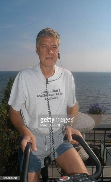 Rüdiger Joswig, Homestory, Sierksdorf/Schleswig-Holstein, Urlaub, , Penthouse-Appartement, Balkon, Ostsee, Meer, Schauspieler, Fitness, Training,...
