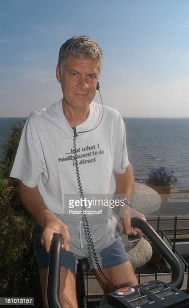 Rüdiger Joswig, Homestory, Sierksdorf/Schleswig-Holstein, Urlaub, , Penthouse-Appartement, Ostsee, Meer, Balkon, Schauspieler, Fitness, Training,...