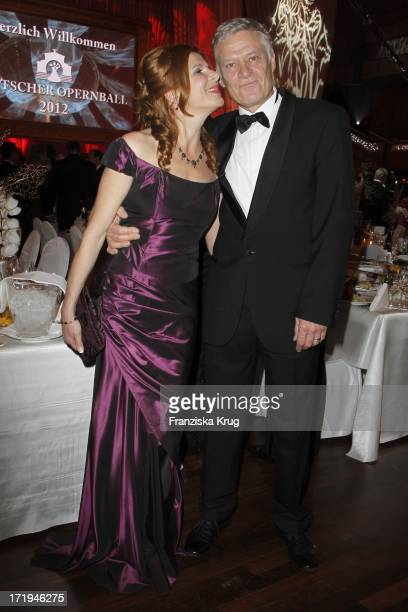 Rüdiger Joswig Und Claudia Wenzel Beim Deutschen Opernball In Der Alten Oper In Frankfurt