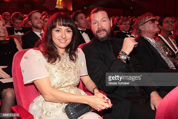 Rea Garvey and his wife Josephine during the Bambi Awards 2014 on November 13, 2014 in Berlin, Germany.