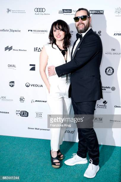 Rea Garvey and his wife Josephine Garvey during the GreenTec Awards at ewerk on May 12, 2017 in Berlin, Germany.