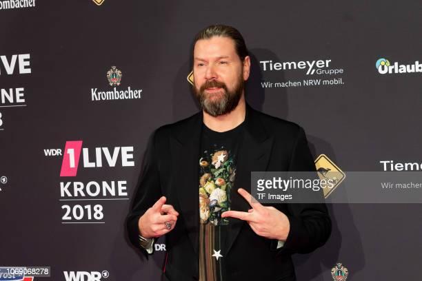 Rea Garvey attends the 1Live Krone radio award at Jahrhunderthalle on December 6 2018 in Bochum Germany
