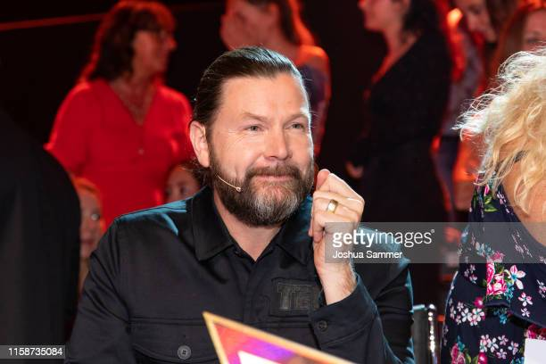 Rea Garvey during the first liveshow of The Masked Singer at Coloneum on June 27 2019 in Cologne Germany