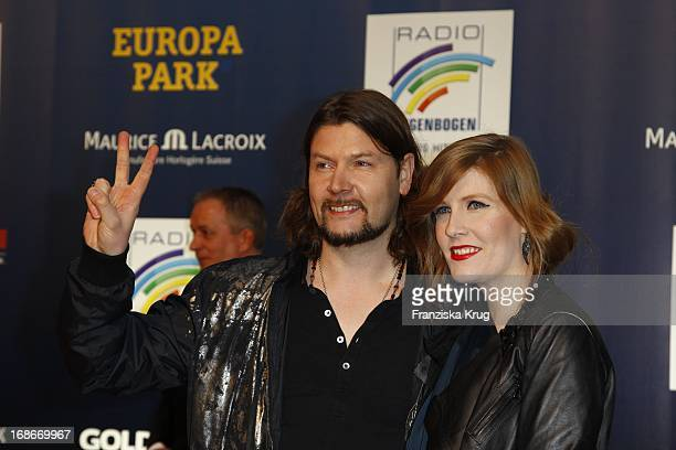 Rea Garvey With His Wife Josephine For The Ceremony Of Radio Regenbogen Awards in Karlsruhe