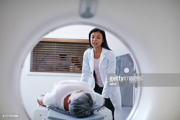 Reaady to begin the scan