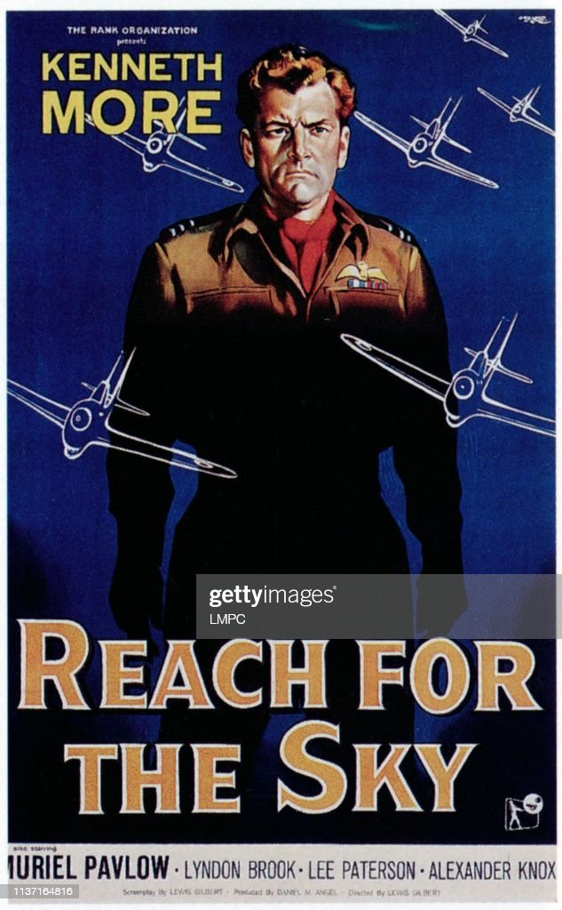 Image result for kenneth more in reach for the sky
