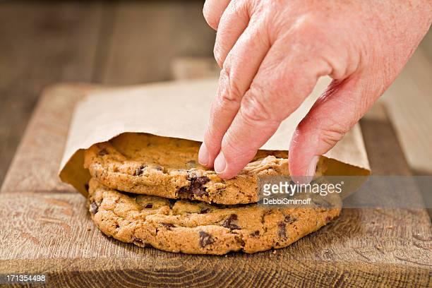 Atteindre pour un Cookie