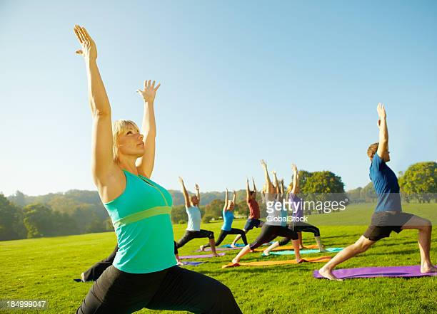Reaching for healthy achievements - Yoga