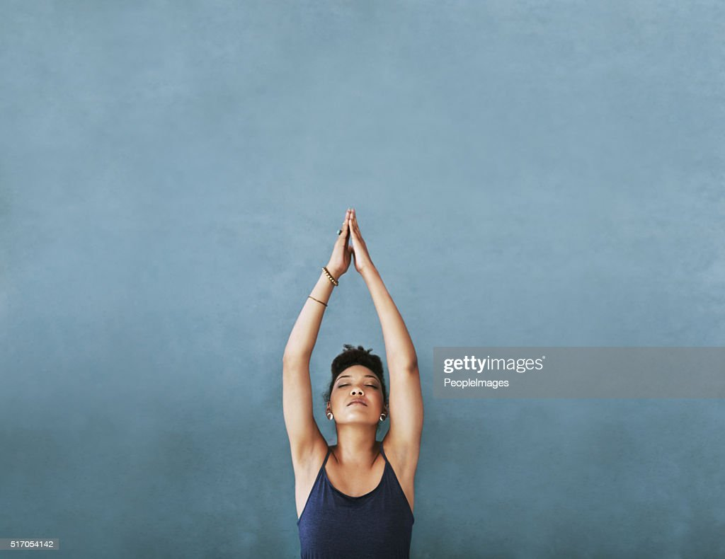 Reaching for her fitness goals : Stock Photo