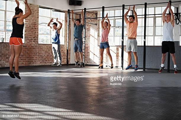 Llegar a nuevas alturas de ejercicios