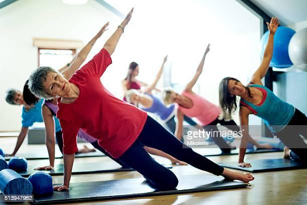 Erreichen Sie neue Höhen von fitness, Pilates
